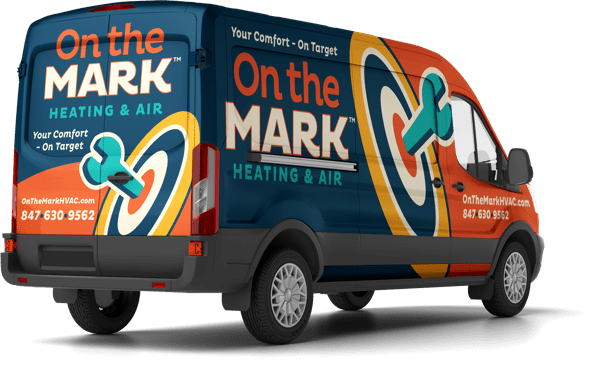 on the mark heating and air van